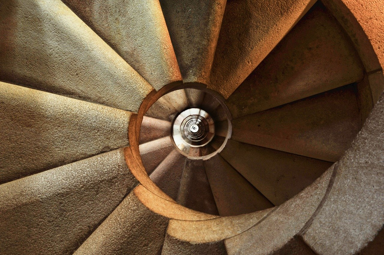 Staircase Spiral Architecture  - stokpic / Pixabay